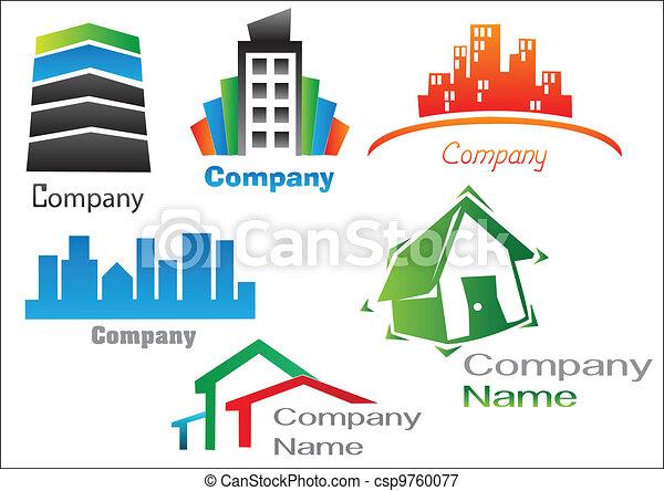 Real Estate Logo Pack 2 - csp9760077