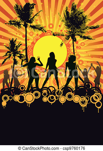 Summer Retro Beach Party - csp9760176