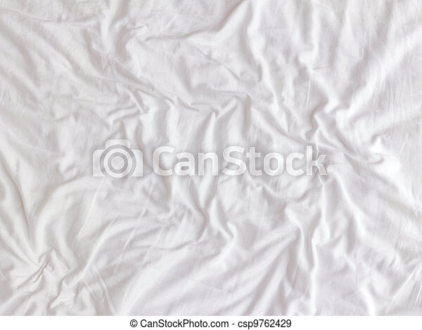 Fabric texture white for background - csp9762429
