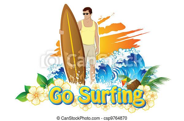 Go Surfing - csp9764870