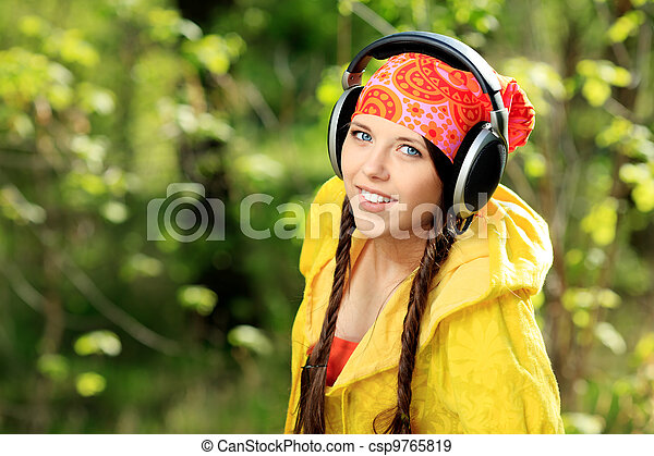 leisure music - csp9765819