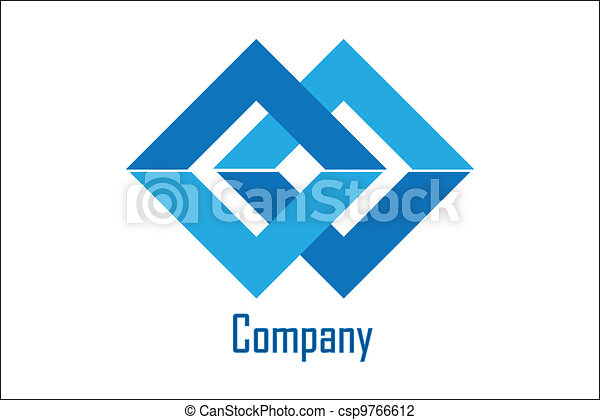 Vector Illustration Of Company Sample Logo Simple And