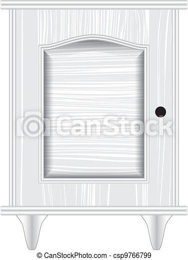 dresser white - csp9766799