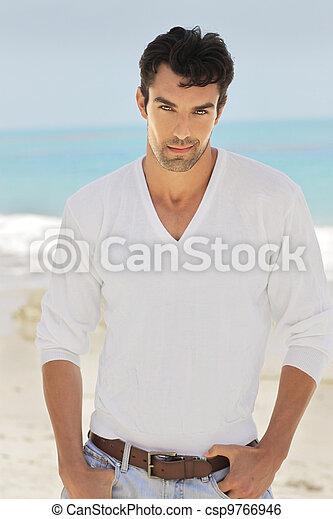 Lifestyle portrait male - csp9766946