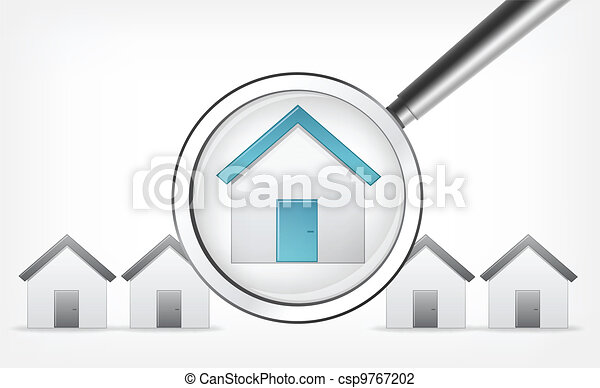 Find Home. Vector EPS 10. - csp9767202