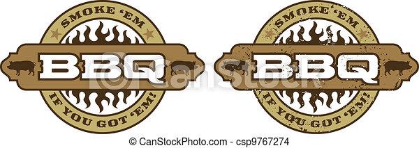 Barbecue Symbol/Icon - csp9767274