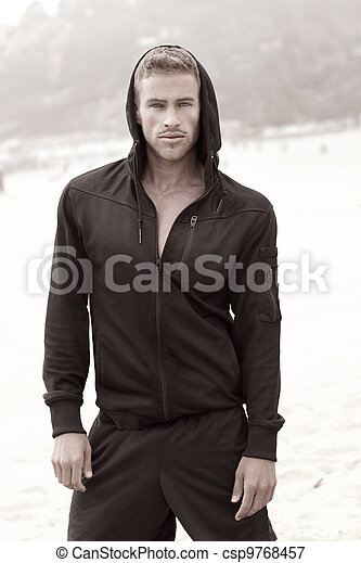 Male fashion model - csp9768457