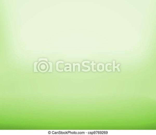 Green Floor Empty Space - csp9769269