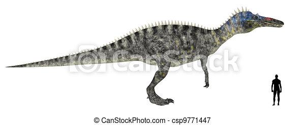 Suchomimus Size Comparison - csp9771447