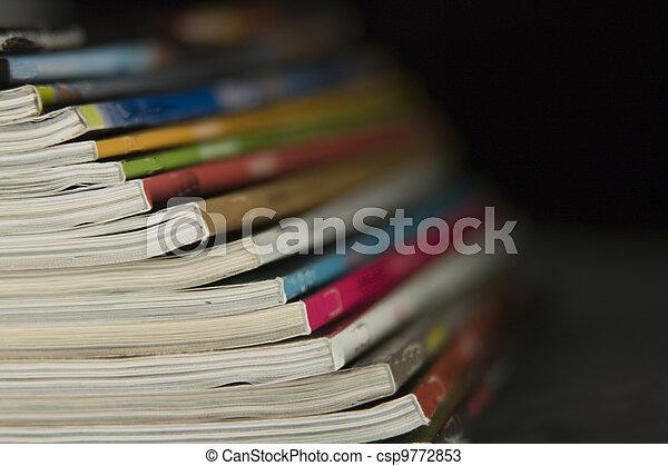 Magazines - csp9772853