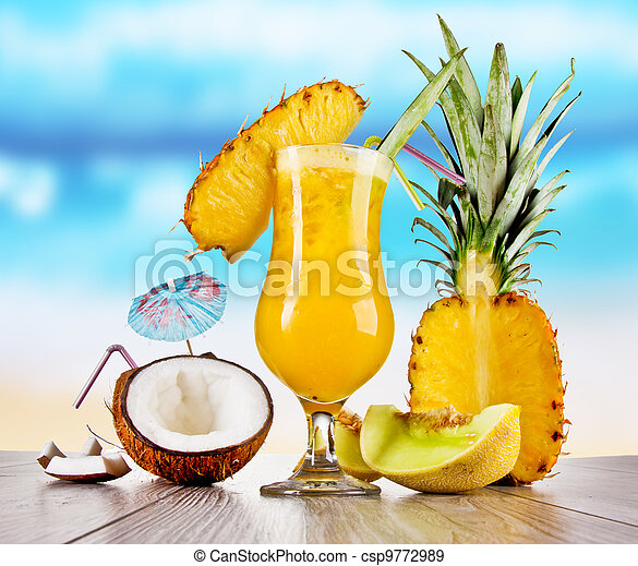 Summer drinks - csp9772989