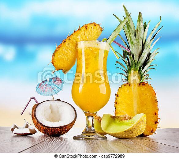 Summer drinks  - csp9772989