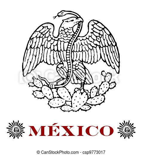 Aguila de mexico dibujo - Imagui
