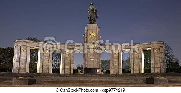 Soviet War Memorial in Berlin - csp9774219