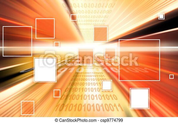 technology background l - csp9774799
