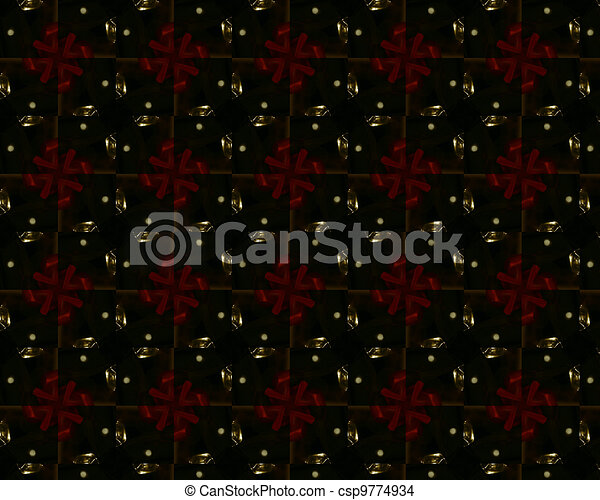 vintage shabby background with classy patterns - csp9774934