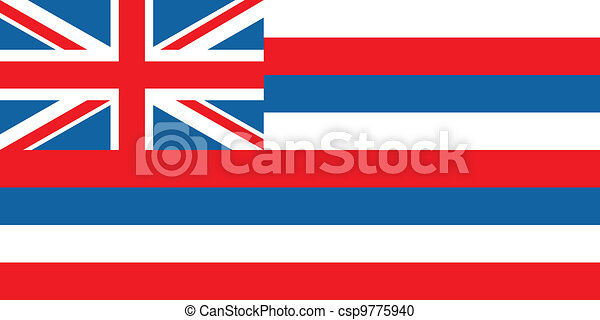 Hawaii flag - csp9775940