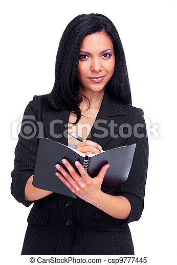 Accountant business woman. - csp9777445