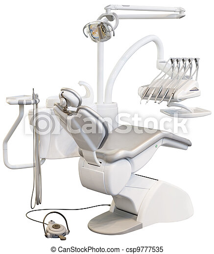 Dental Chair Cutout - csp9777535