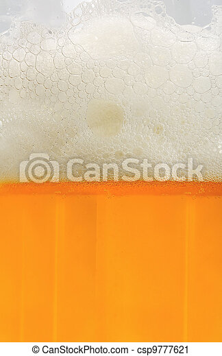 beer with froth - csp9777621