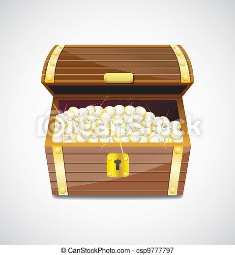 Treasure chest - csp9777797