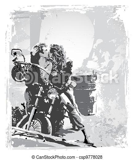 passion rider - csp9778028