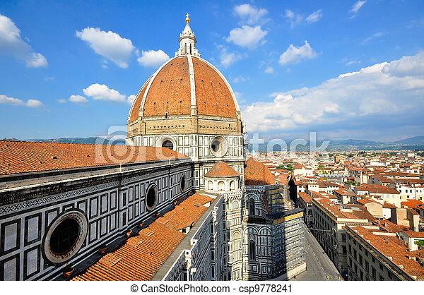 Duomo, Florence, Italy - csp9778241