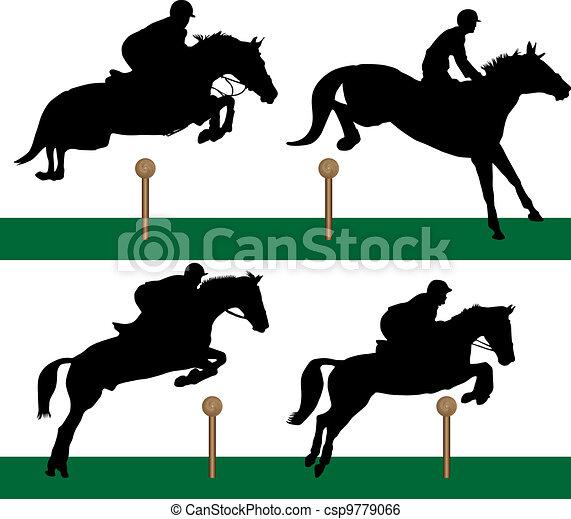 Equestrian - Jumping - csp9779066