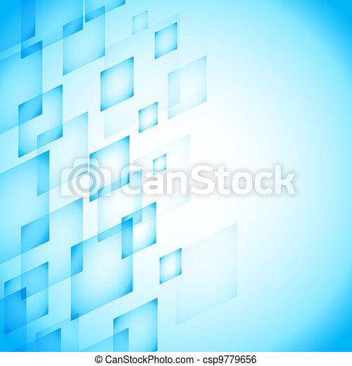 abstract blue background - csp9779656