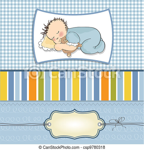 little baby boy sleep  - csp9780318