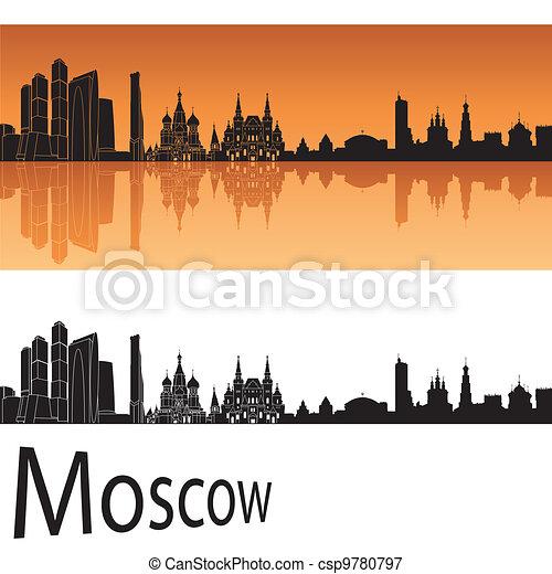 Moscow skyline - csp9780797