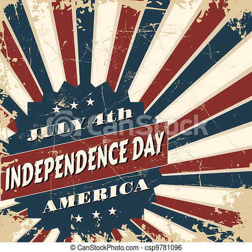 Independence Day Card - csp9781096
