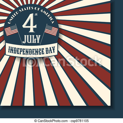 Independence Day Card - csp9781105