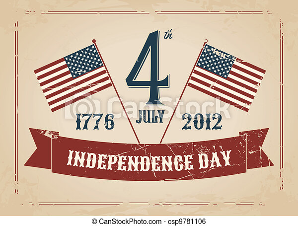 Independence Day Card - csp9781106