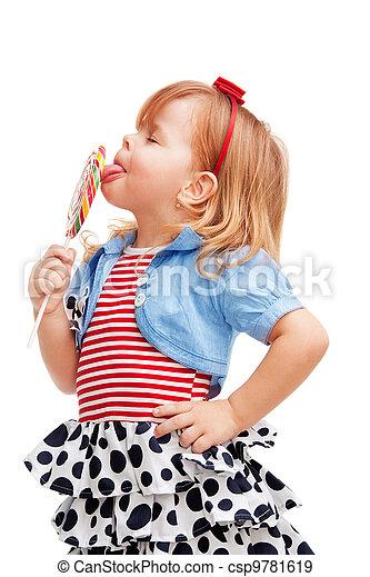 Taking pleasure of lollipop - csp9781619