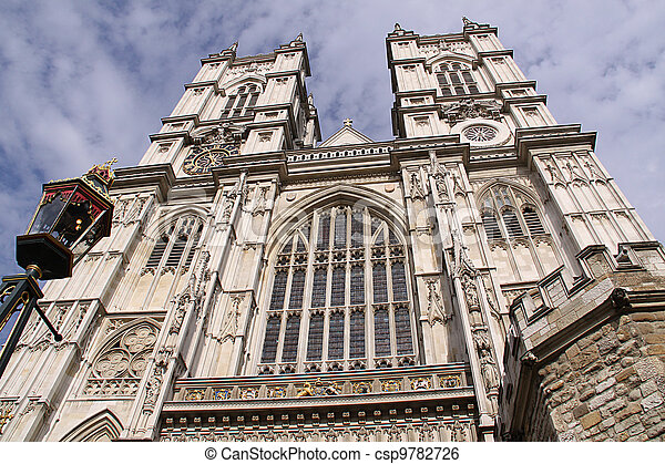 Westminster Abbey, London, England - csp9782726