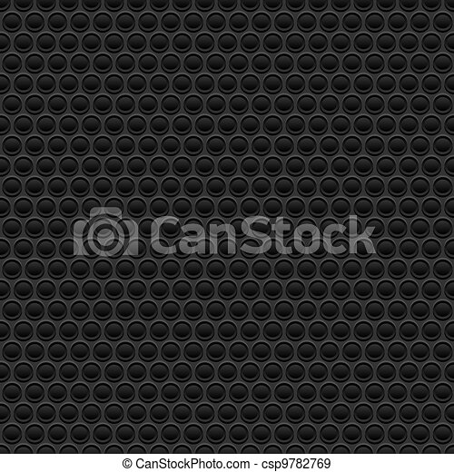 Black rubber texture - csp9782769