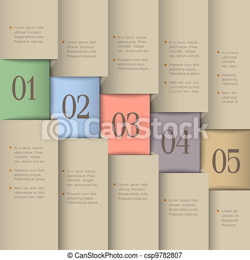 Creative design template - csp9782807