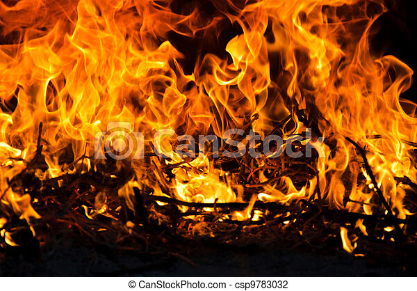 Blazing Fire Clipart Blazing Fire Csp9783032