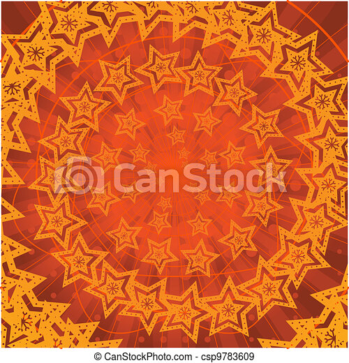Background abstract, stars - csp9783609