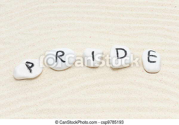Pride word - csp9785193
