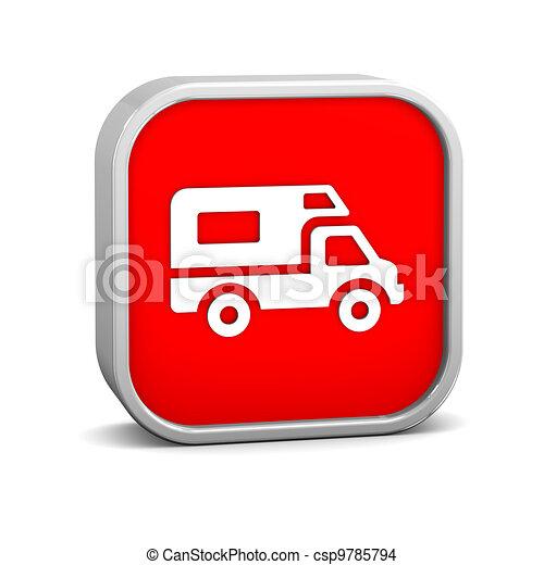Recreational Vehicle sign - csp9785794