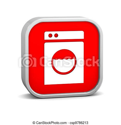 stock illustration w sche maschine zeichen stock illustration lizenzfreie illustration. Black Bedroom Furniture Sets. Home Design Ideas