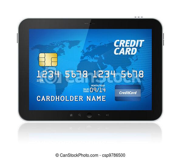 Mobile payment concept - csp9786500