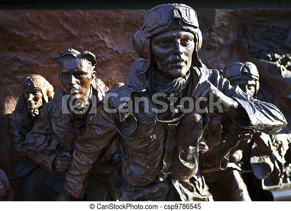Battle of Britain Mounment in London - csp9786545