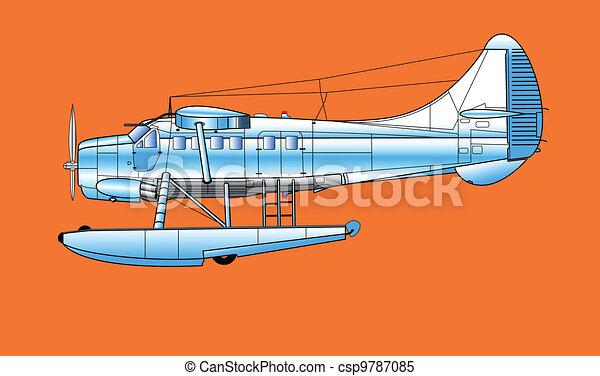 aeroplane - csp9787085