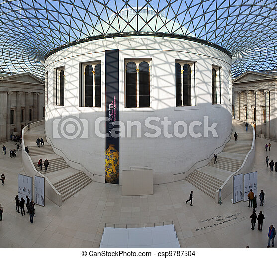 British Museum in London - csp9787504