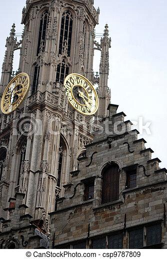 Grand place Antwerp - csp9787809