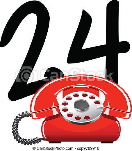 24-hour service - csp9789910