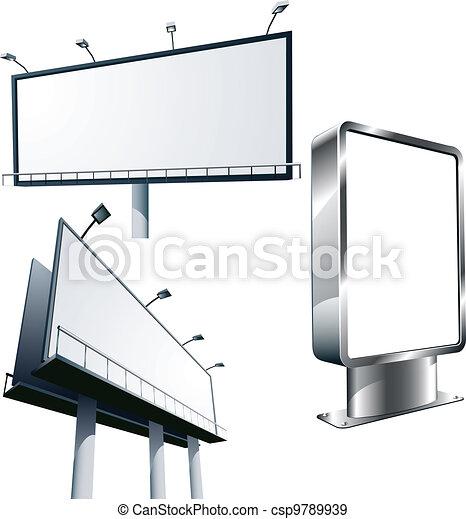 advertising billboard - csp9789939
